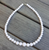Gumball Bead Necklace 10 Colours Available - Crisp White - Cobalt Heights