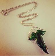 Lorien Leaf Inspired Pendant