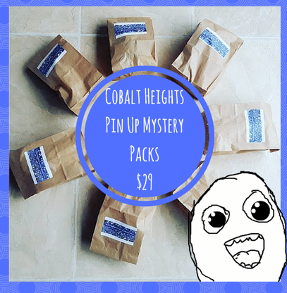 Pin Up Mystery Pack - Cobalt Heights