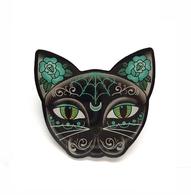 Jubly Umph Luna Black Kitty Brooch