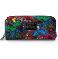 Loungefly X Marvel Avengers Pebble Wallet - Cobalt Heights