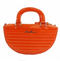 Starstruck Starburst Handbag - Sunset Orange - Cobalt Heights
