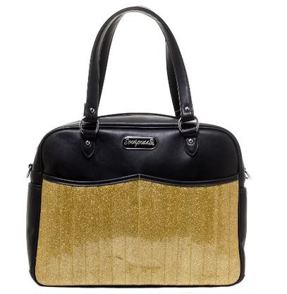 Sourpuss Retro Diaper Bag - Gold  - Cobalt Heights
