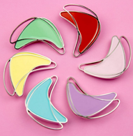 Los Flamingo Atomic Boom Boom Brooch - Pastel - 6 Colours Available! - Cobalt Heights