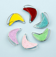 Los Flamingo Atomic Boom Boom Brooch - Glitter - 6 Colours Available! - Cobalt Heights