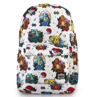Loungefly X Pokemon Flash Tattoo Backpack - Cobalt Heights