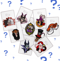 Loungefly X Disney Villains Patches - Random Pack Of 3 - Cobalt Heights