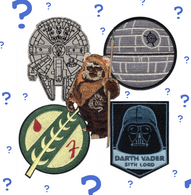 Loungefly X Star Wars Patches - Random Pack Of 3 - Cobalt Heights