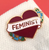 Jubly Umph Feminist Heart Lapel Pin - Cobalt Heights