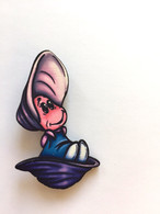 Hungry Designs Baby Oyster Brooch - Cobalt Heights