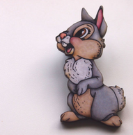 Hungry Designs Thumper Brooch - Cobalt Heights
