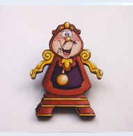 Hungry Designs Cogsworth Brooch - Cobalt Heights