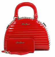 Starstruck Starlight Handbag - Red - With Wallet - Cobalt Heights