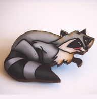 Hungry Designs Meeko Brooch - Cobalt Heights