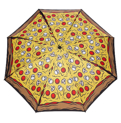 Sourpuss Pizza Party Umbrella - Cobalt Heights