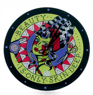 Sourpuss Beauty Is Only Skin Deep Clock - Cobalt Heights