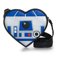 Loungefly X Star Wars R2D2 Heart Cross Body Purse - Cobalt Heights