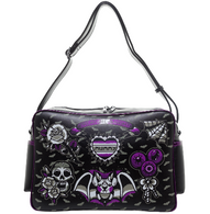 Sourpuss Creature Of The Night Diaper Bag - Cobalt Heights