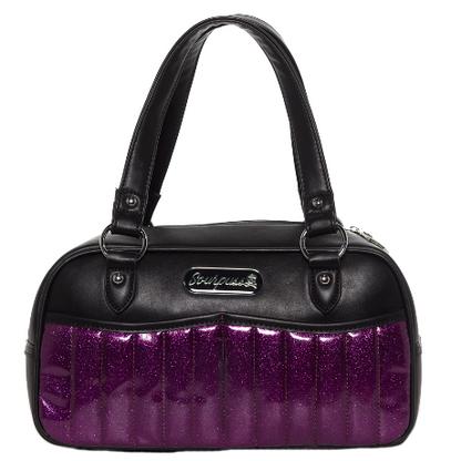 Sourpuss Glitter Sabrina Purse - Purple - Cobalt Heights
