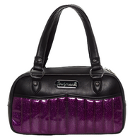 Sourpuss Glitter Sabrina Purse - Purple - Cobalt Heights