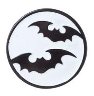 Sourpuss Bat Moon Lapel Pin - Cobalt Heights