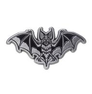 Sourpuss Bat Attack Lapel Pin - Cobalt Heights