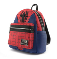 Loungefly X Marvel Spiderman Suit Cosplay Mini Backpack - Cobalt Heights
