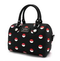 Loungefly X Pokemon Pokeball Pebble Handbag - Cobalt Heights
