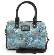 Loungefly X Pokemon Magikarp Gyarados Waves Handbag - Cobalt Heights