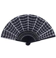 Sourpuss Spiderweb Fan - Cobalt Heights