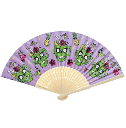Sourpuss Zombie Drinks Fan - Cobalt Heights