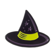 Sourpuss Witches Hat Lapel Pin - Cobalt Heights
