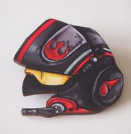 Hungry Designs Poe Dameron Helmet Brooch - Cobalt Heights