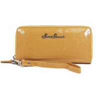 Starstruck Sparkle Vinyl Wallet - Gold - Cobalt Heights