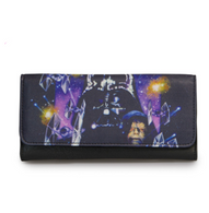 Loungefly X Star Wars Empire Strikes Back Space Scene Wallet - Cobalt Heights