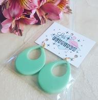 Los Flamingo Idda Teardrop Earrings - Mint Green - Cobalt Heights
