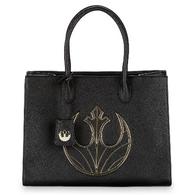Loungefly X Star Wars Rebel Canto Large Plaque Handbag - Cobalt Heights