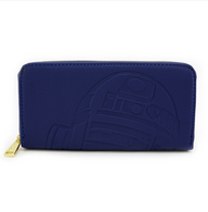 Loungefly X Star Wars R2D2 Embossed Wallet - Cobalt Heights
