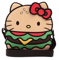 Loungefly X Hello Kitty Burger Cross Body Bag - Cobalt Heights