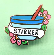 Jubly Umph Stirrer Lapel Pin - Cobalt Heights