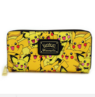 Loungefly X Pokemon Pikachu and Pichu Wallet - Cobalt Heights
