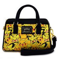 Loungefly X Pokemon Pikachu and Pichu Handbag - Cobalt Heights