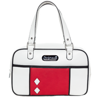 Sourpuss Mod Block Purse - White - Cobalt Heights