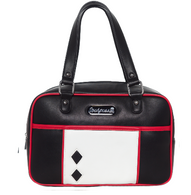 Sourpuss Mod Block Purse - Black - Cobalt Heights