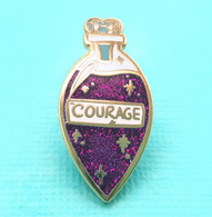 Jubly Umph Elixir Of Courage Lapel Pin - Cobalt Heights