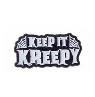 Kustom Kreeps Keep It Kreepy Enamel Pin - Cobalt Heights