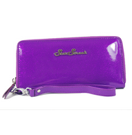 Starstruck Sparkle Vinyl Wallet - Purple - Cobalt Heights