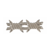 Kustom Kreeps Barbed Wire Enamel Pin - Cobalt Heights