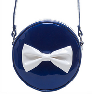 Sourpuss Ship Shape Purse - Navy - Cobalt Heights