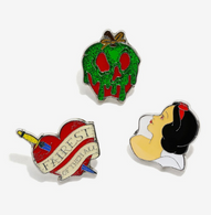 Loungefly X Disney Snow White Enamel Pin Set - Cobalt Heights